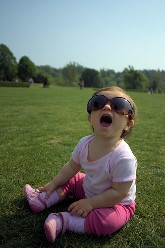 Sunglasses On