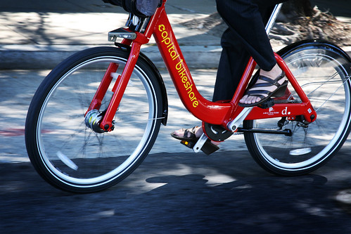 Capital Bikeshare (By: DC DOT)