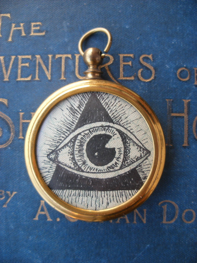 "Fob Pendant- ""All-seeing"""