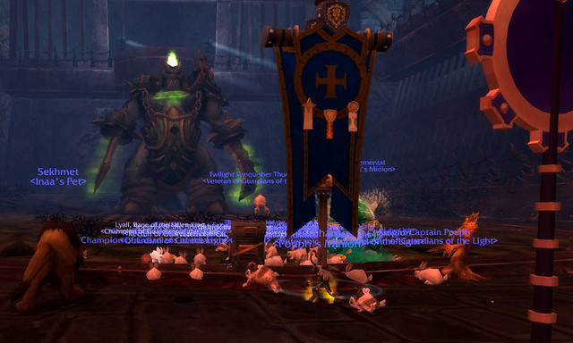 Bunnies vs Argaloth!