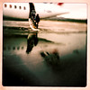 Goin' home. (Jean-Marc Valladier) Tags: blur plane squared iphone gettyimagesfranceq1