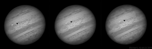 Jupiter Io transit 090910 by Mick Hyde