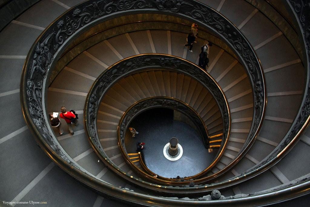L'escalier de Giuseppe Momo