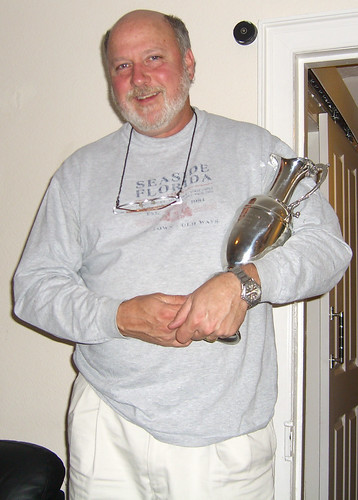 Jeff with Claret Jug