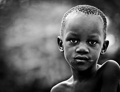Kalangala Boy (gunnisal) Tags: africa boy portrait bw kid eyes uganda kalangala gunnisal