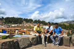En Vilcas con Lucho y Julio (milton's) Tags: ayacucho peru view tourism church know inca culture history town altitude andes peruvian puna architecture historic cathedral plaza south america sucre monument