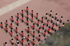 The Band of the Coldstream Guards at Buckingham Palace