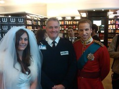 Royal Wedding Security with Wills & Kate, Alison Jackson. (Christopher Wilson) Tags: show wedding book comedy kate royal security queen catherine april spoof wills officer middleton marrage aprilfool footman royalprotection alisonjackson royalsecurity uptheisle