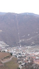 Bolzano (Nevica) Tags: city trees houses italy snow pine forest walking italia hiking cablecar italians bolzano collekohlern