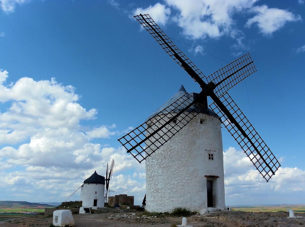 Consuegra moulin mancha espagne don Quichotte