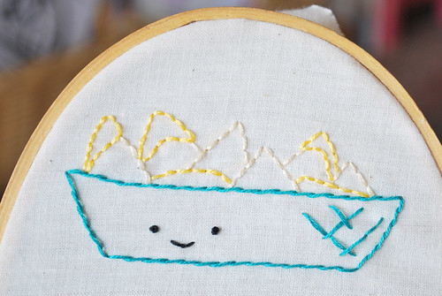 This is nacho embroidery!