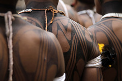 (Lucille Kanzawa) Tags: brazil brasil back indians costas índios brazilianindians índiosbrasileiros tocadaraposa