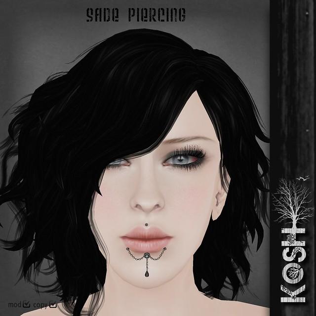 KOSH- SADE PIERCING PIC by KOSH&ConcreteFlowers