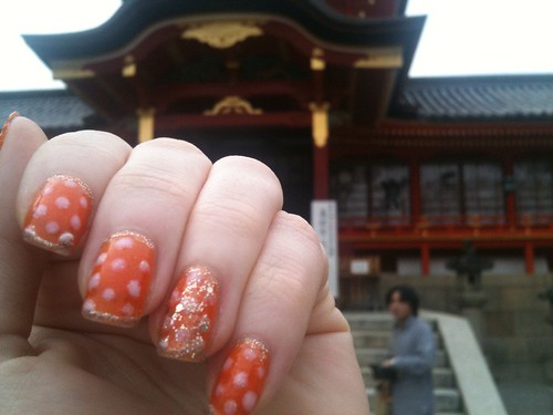 Spring Mani and Iwashimizu Shrine by KitaRei