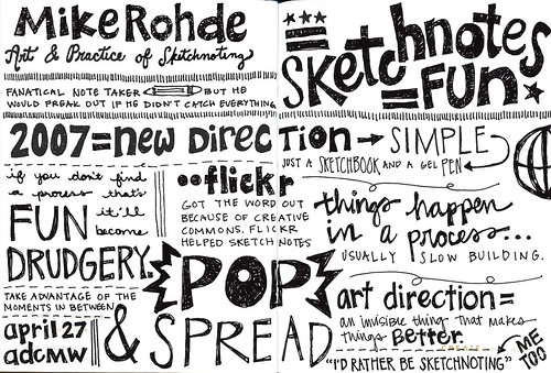 Sketchnotes+MikeRohde