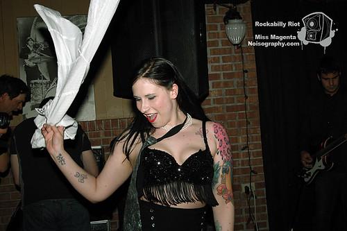 Miss Magenta - Rockabilly Riot - April 30th 2011 - 09