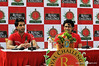 Sidhartha Mallya   Anil Kumble during press conference in Bangalore