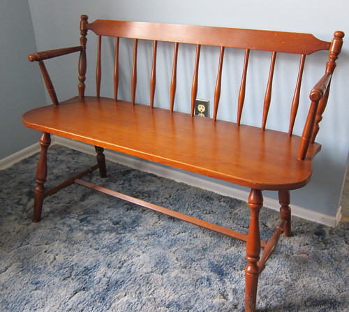 Dining room set-  Bench maple wood