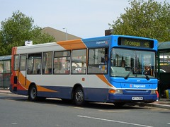 Stagecoach Western - V974 DRM (33074) (MSE062) Tags: bus pointer single western dennis ayr drm dart stagecoach decker mpd plaxton 33074 v974