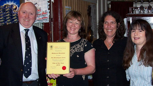 CAMRAswl Pub of the Year 2010 presentation