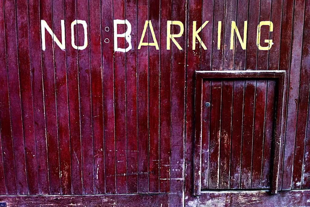 No Barking