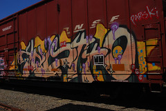 Knistt (All Seeing) Tags: graffiti zee pars bnsf rxr fgs gtl parski knistto