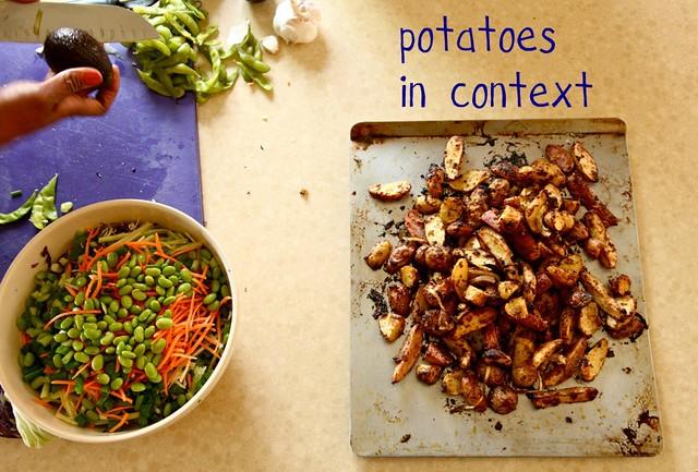 Mustard Roasted New Potatoes | Joy the Baker
