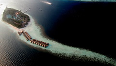 Beautiful Maldives (╚ DD╔) Tags: sea sun beach water honeymoon resort maldives villas vilamendhoo