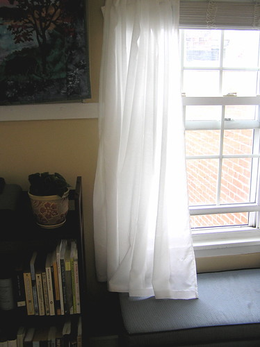 Curtains in the study