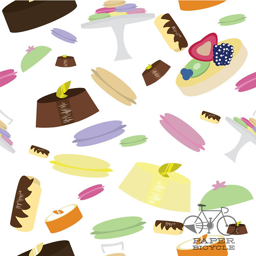 Daily Pattern - French Pastry