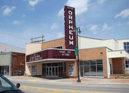 Orpheum Theater, marshalltown, Iowa