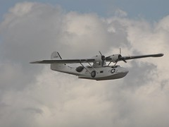 PBY 5A Catalina -1 (tdcphotos) Tags: canon catalina amphibian airshow consolidated ww2 duxford seaplane warbird canonpowershot pby5a consolidatedcatalina sx10is pb5y