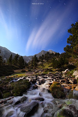 complicitat (tofercu) Tags: canon flickr explore nocturna catalunya blau coulds nit montanya pirineus riu nvols nigt 2011 elter vallter2000 tonifernandez 5dmarkii tofercu photobnet