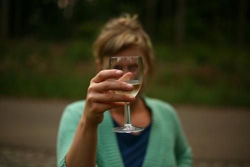 Gelukkig is er wijn!