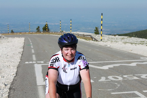 Camilla on Ventoux. Photo: Niamh Sage