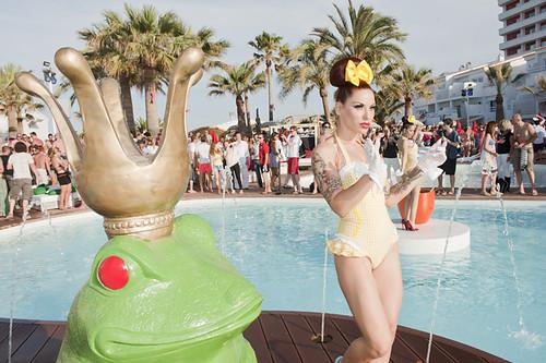 Ushuaia Beach Hotel, Opening Party, Ibiza 2011
