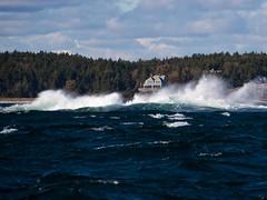 Crashing Waves on Maine Atlantic CoastJNB1982 (JaniceNolan_braud) Tags: danger harbor waves wind maine crashingwaves atlanticcoast boothbayharbor highwind roughwater roughocean ruggedcoast ruggedcoastline smallcraftwarnings dangerouswaves