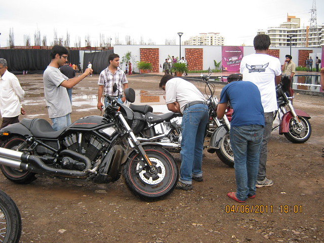 """Park Titanium Harley Fest"" at Park Street Wakad Pune IMG_6921"