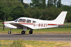 G-BOZI (QSY on-route) Tags: club fly 55 th aero in lincon sturgate egcs gbozi 04062011