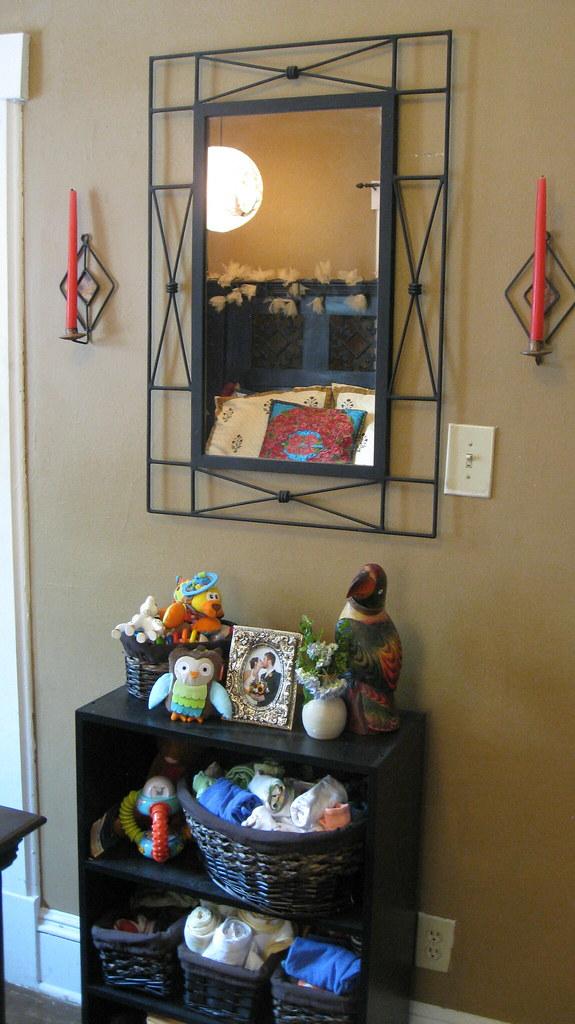 Bedroom Baby Shelf