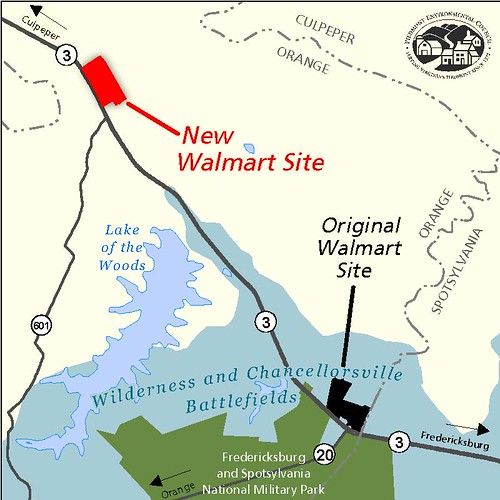 Walmart Alternative Site Map