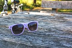 (nicy) Tags: wood flowers sun sunglasses bokeh