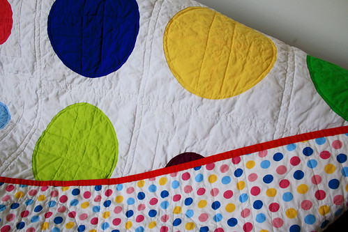color dotty backing