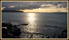 Sun soothing on the ripples of tranquility (Dazzygidds) Tags: beautifullight serenity northernireland beautifulclouds portstewart ulster lightrays countylondonderry countyderry