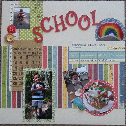 School Daze Layout