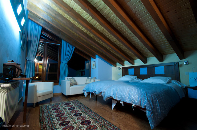 Habitación del hotel rural Reciegos