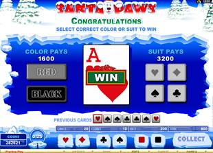 free Santa Paws bonus feature start