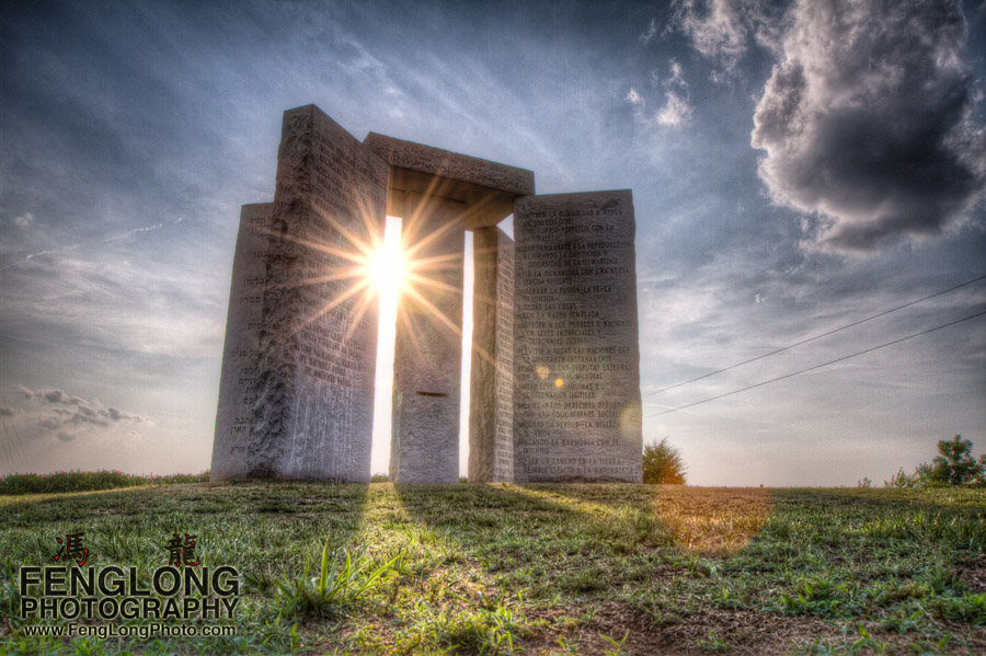 Georgia Guidestones HDR Time-Lapse Frame Grab - See the video in my stream!