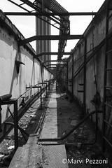 SNIA (MarviMPZ) Tags: urbexer luoghiabbandonati abandonedplaces bnw biancoenero sniaviscosa marvipezzoni prospettiva perspective urbex urbanexploration