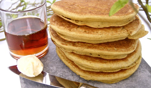 Buckwheat Pancakes (Gluten-Free)